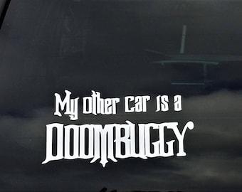 Car Decal, Disney Haunted Mansion, Doombuggy, Vinyl Decal