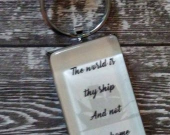 St. Therese Quote Pendant or Keychain