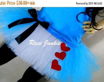 Christmas in July Sale Wonderland Fairy Tale tutu . Adult Halloween Costume. Cosplay Alice. Running Tutu. Race Costume. Party