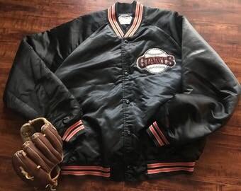 Chalkline SF Giants satin jacket ~ San Francisco Giants jacket ~ XL