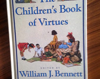 Beautifully Illustrated book The Children's Book of Virtues