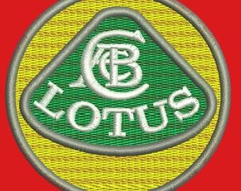 Lotus logo  Machine Embroidery Design
