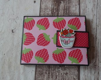 "Mini wallet ""Sweet"" Gr. 13 x 10 cm"