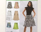 Simplicity 2655, Women's Skirt Pattern, Easy to Sew, Plus Size Pattern, Size 16-24, Uncut Pattern