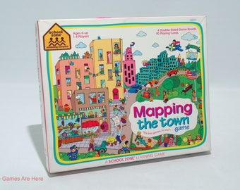 Mapping the Town Game from School Zone 1994 COMPLETE