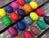 Easter Egg Crayons Set of 10 - Kids Easter Party Favors - Class Favors - Easter Gifts For Kid - Kids Easter Gifts - Shaped Crayons - Easter