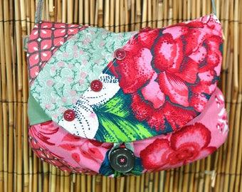 Ptchwork Collection Lina shoulder clutch bag