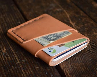 The Port Wallet, Minimal Leather Men's Card Wallet