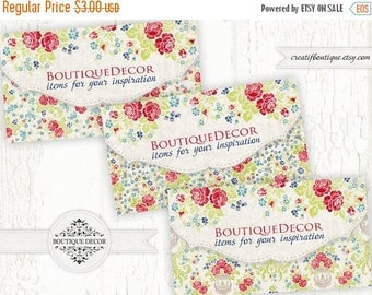 ON SALE Set of 3 cards 5x9 cm. Flower cards. Digital collage sheet for scrapbooking or packaging.