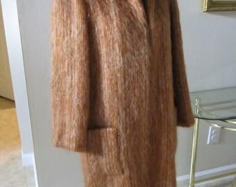 BILL BLASS MOHAIR Sweater Coat