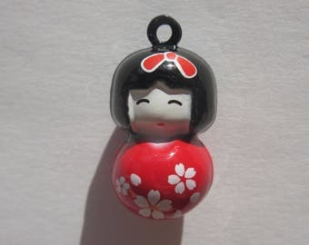 Bell ringing in the shape of kakeshi 2 cm (71)