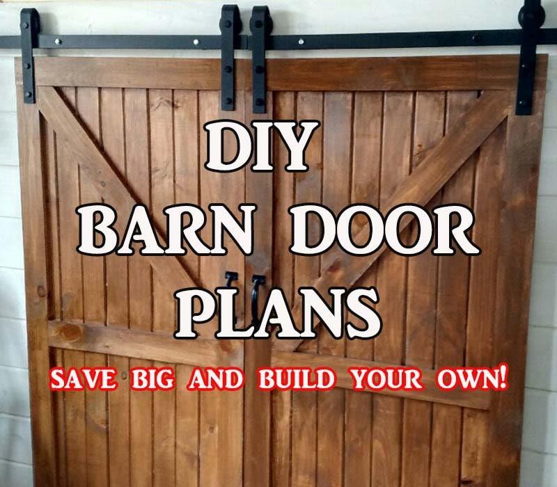 how to build a mini barn door