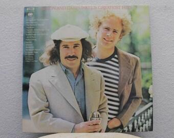 "Simon and Garfunkel - ""Greatest Hits"" vinyl record"