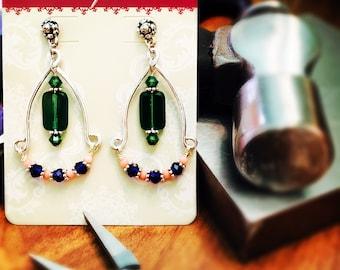 Tropic Chandelier earrings