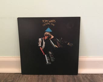 "Tom Waits ""Closing Time"" vinyl record"