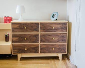 Mid Century Modern Dresser   Modern Dresser   Minimalist Dresser