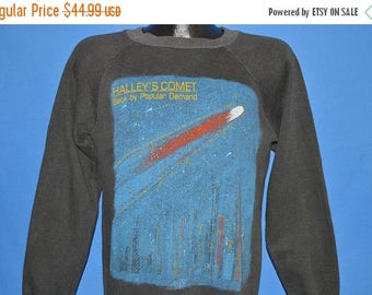 ON SALE 80s Halley's Comet Back By Popular Demand Sweatshirt Medium
