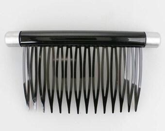 90x48 comb in black 1Pcs (K2178_schksm)