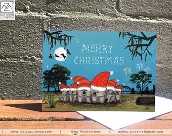 Happy Holidays - cop