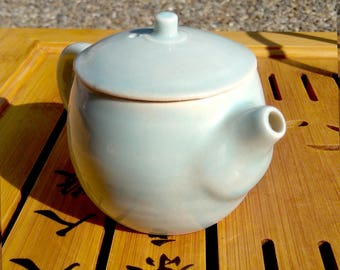 Ice Blue Teapot