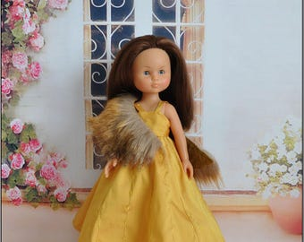 Darling doll outfit: evening dress