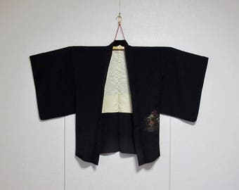 Vintage Kimono Jacket - Haori - Fairy Wood
