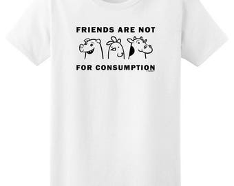 Funny Gift for Vegan Friends are Not for Consumption Ladies T-Shirt 2000L - RS-779