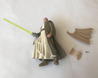 Vintage Obi Wan kenobi light up action figure.
