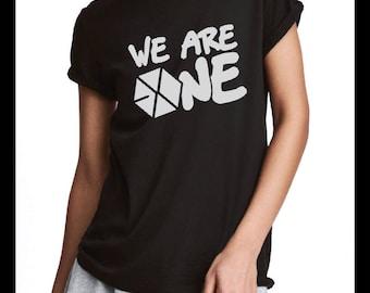 EXO-L KPOP fan tee (EXO Sehun, Baekhyun, Chanyeol, Kai, Lay, Suho, Do, Xiumin, Chen) T-shirt