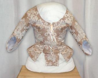 18th Century Williamsburg Girls or Child's Jacket