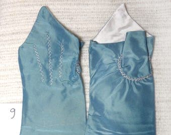 18th Century Size_9_ Ladies Colonial Silk Mitts #9.0.1