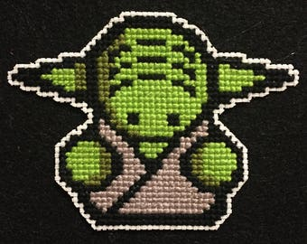 Yoda Cross-Stitch