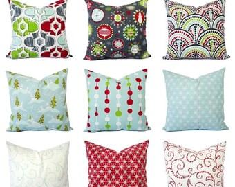 Christmas Pillow Covers For Sale: Christmas euro sham   Etsy,