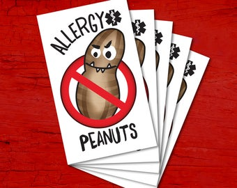 Tattoos for children allergic to PEANUTS.