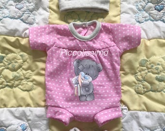 "14"" tatty teddy inspired onesies"