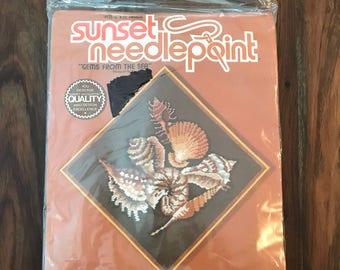 Vintage Needlepoint Kit
