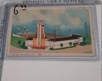 10% OFF 3 day sale Vintage  New York  Worlds Fair Postcard 1939 Postcard