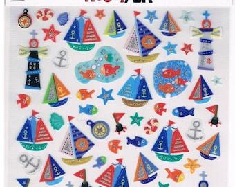 Stickers, Maritime, 1 sheet (1328)