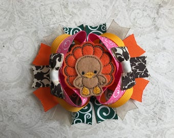 Turkey Boutique Hairbow