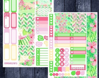 Weekend Sale Tropical Vacation Kit for Personal Planner