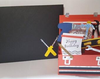 Tool Box Birthday Card