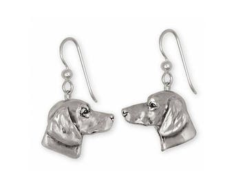 Dachshund Jewelry Sterling Silver Dachshund Earrings Jewelry Handmade Dog Jewelry DA1920-E
