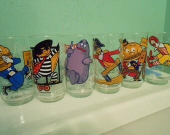 McDonald glasses