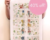 40% OFF! George Street, East Fremantle - Reproduction of an original Artwork - A2