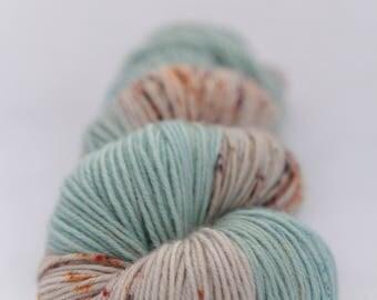 Hand-dyed yarn - superwash merino - semi-solid - sock yarn - dyed-to-order - LEGENDE
