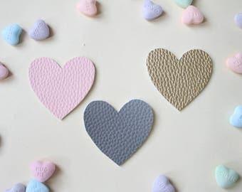 Heart Hair Clips//Valentine Hair Clips