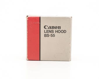 Canon Lens Hood BS-55 - Like New - Black Plastic