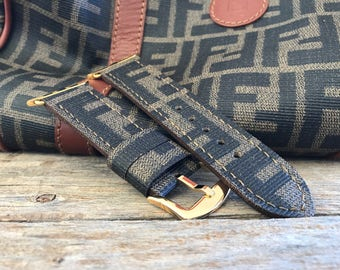 Artisan watch strap apple watch FENDI Hand made !!!
