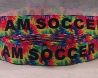 Tie Dye Soccer Headband - Sports Headbands for Women - Kids Headbands for Girls - Girls Soccer Gifts - Choice of Sizes and Colors