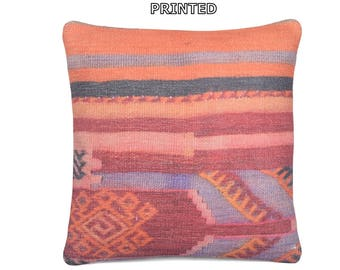 kilim pillow 24x24 large couch pillow large throw pillow large bohemian pillow large boho pillow euro pillow cover 24x24 throw pillow 13-60